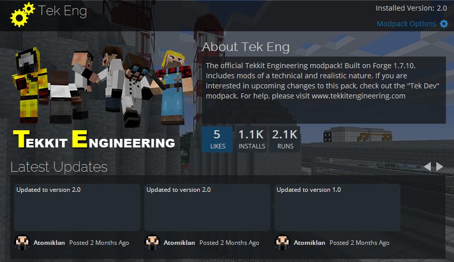 Tekkit Engineering